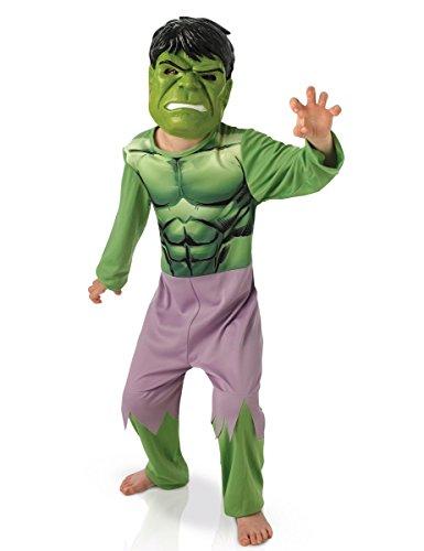 Klassisches Avengers-Kostüm Hulk mit Maske für (Kostüme Hulk Avengers Kinder)