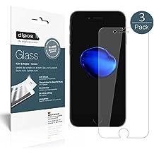 iPhone 7 Pellicola Protettiva - 3x dipos Glass Protezione Vetro Flessibile 9H