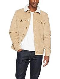 Urban Classics Sherpa Corduroy Jacket, Veste en Jean Homme