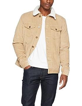 Urban Classics Sherpa Corduroy Jacket, Chaqueta para Hombre