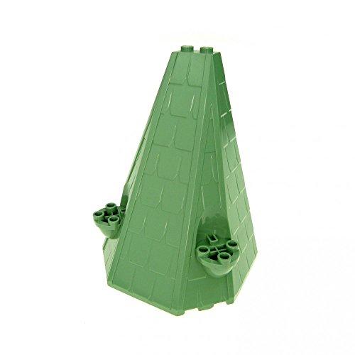 Dach Sand grün 6 x 8 x 9 Spitze Schloss Harry Potter Tower Roof 4730 4729 4867 4709 4842 42000 10487 33215 ()