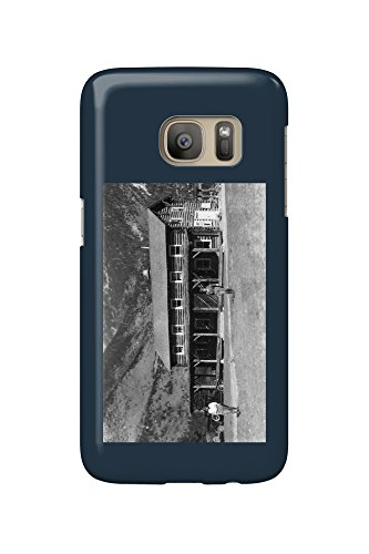 Ranch Lodge (Alpine, Montana - Exterior Of Ter-O-Dar Ranch Main Lodge (Galaxy S7 Cell Phone Case, Slim Barely There))