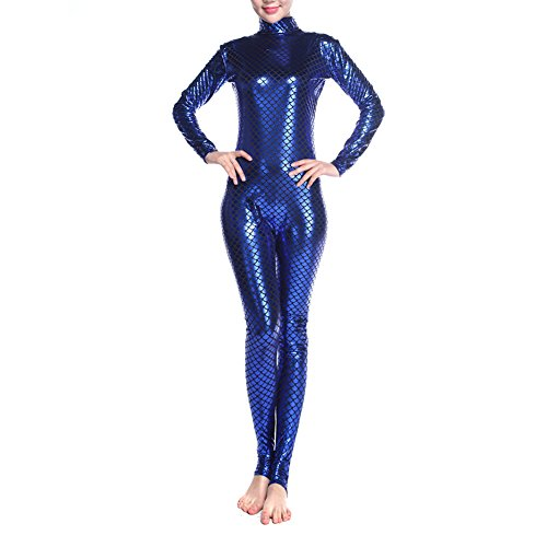 ard Body Dancewear, Fisch Waage Meerjungfrau Kostüm Leggings, Blau, PUKH-DK31136_BLUE-S (Halloween Fancy Dress Kostüme Billig)