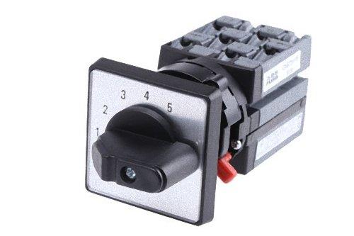 Abb-entrelec onst51pb - Conmutador 5 posición 1 polo 25a montaje puerta