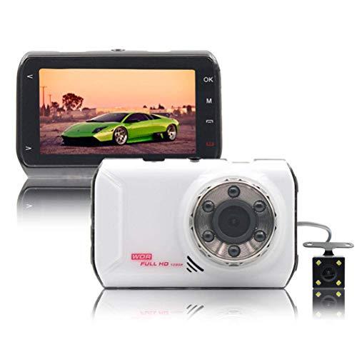 ZGYQGOO Dash Cam Car Camera 1080P für Autos 170 Weitwinkel WDR mit 3,0