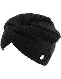 GIANMARCO VENTURI Cappello donna 100% acrilico cuffia a maglia in box 71796  blk f12a5d1e5a51