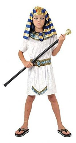 Boys Fancy Dress Costume Pharaoh (Age 4-6 years 110-120cm) G51255S Egyptian Ancient Egypt by Pams
