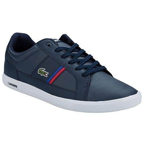 lacosteeuropa-tcl-scarpe-da-ginnastica-basse-uomo-bleu-fonce-40