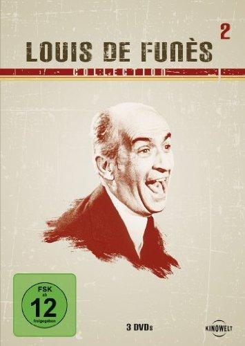 Bild von Louis de Funès Collection 2 (Die Abenteuer des Rabbi Jacob / Louis, das Schlitzohr / Louis, der Geizkragen) [3 DVDs]