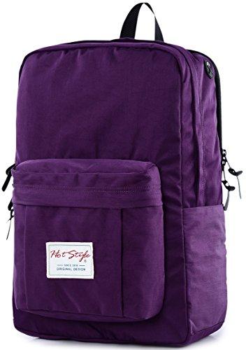 casual-zaino-per-laptop-hotstyle-impermeabile-collegio-bookbag-per-156-macbook-pro-d134c-purple-mult