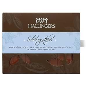 Hallingers Tafel Schneegestöber Vollmilch 90g, 2er Pack (2 x 90 g)