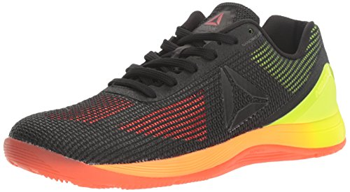 Reebok Women's Crossfit Nano 7.0 Cross-Trainer Shoe, Vitamin C/Solar Yellow/Black/Lead, 7 M US