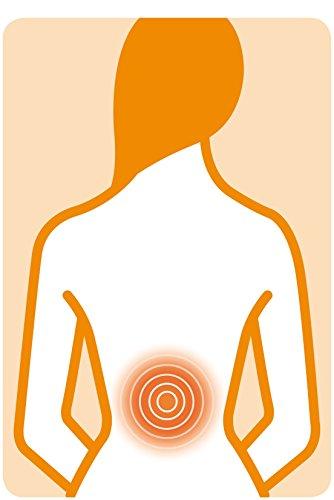 Medisana MC 822 Shiatsu -Massagesitzauflage (geeignet bis Körpergröße 1,85m) 3 Massagezonen, höhenverstellbare Nackenmassage, Vibrationsmassage -