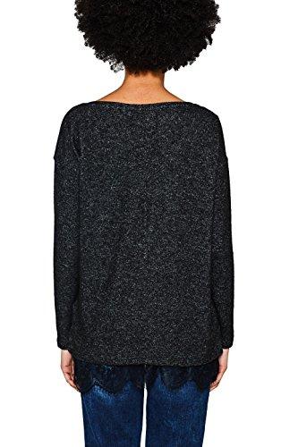 edc by Esprit, T-Shirt à Manches Longues Femme Gris (Gunmetal 5 019)