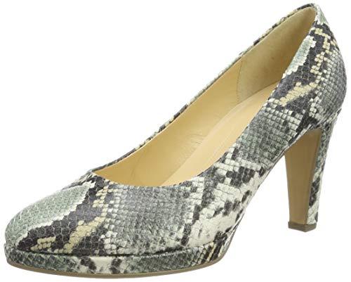 Gabor Shoes Damen Fashion Pumps, Grün (Schilf 51), 40 EU