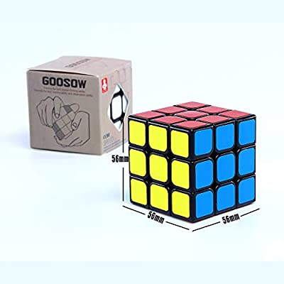 Speed Cube,Magic Cube,3x3x3 Puzzle Magic Cube, 56mm Smoothly Quicky Twist Adjustable Speed Cube,Eco-friendly Durable Material ABS,Puzzle Cube For Kids Boys Toddler : everything 5 pounds (or less!)