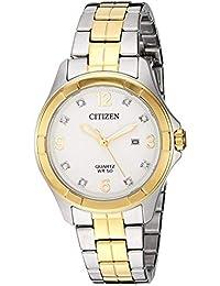 79a8f6167ff5 reloj citizen quartz - Incluir no disponibles   Mujer  Relojes - Amazon.es