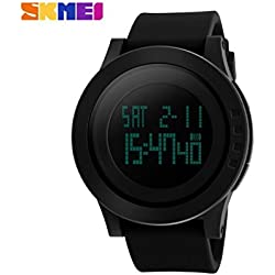 Skmei S-Shock digital black Dial Men's Watch