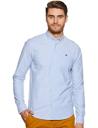 Scotch & Soda Herren Nos Oxford Shirt Regular Fit Button Down Collar Freizeithemd, Blau (Blue 0765), XX-Large (Herstellergröße:XXL)