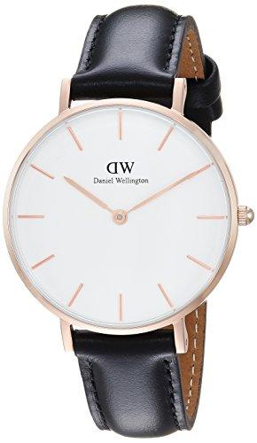 Daniel Wellington Women's Analogue Quartz Watch with Leather Strap DW00100174