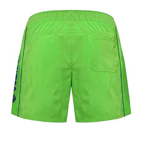 Colmar Slip Stretch Short de bain pour homme vert/bleu