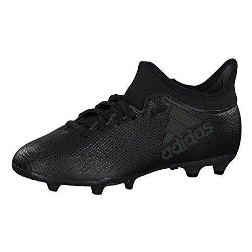 adidas Jungen X 17.3 FG J Fußballschuhe Mehrfarbig (Cblackcblacksupcya)