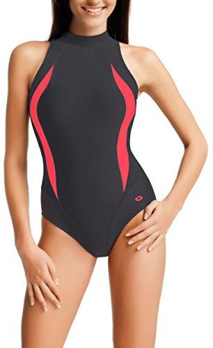gwinner-traje-de-natacion-para-mujer-tamano-42-color-gris-rosa-blanco