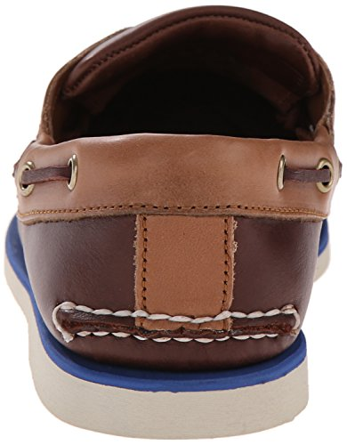 Timberland Classic Boat 2 Eyepotting Soil and Tan Two-Tone, Chaussures Bateau Homme, Marron Marron (Potting Soil And Tan Two-tone)