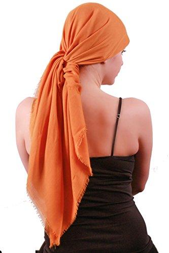 Foulards Carrés Légers doux pour les femmes Or
