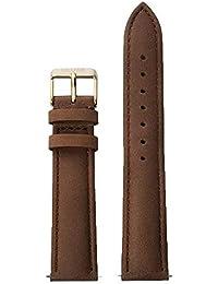 Cluse Damen Armbanduhr Zubehör Lederbänder Leder La Bohème Strap Brown/Gold braun CLS022