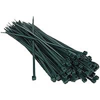 Sanfor Verde Paquete Bridas Nylon Resistente 200 x 3,6 mm | 25 Unidades | Alta Calidad Fuerte