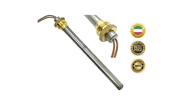 RESISTENZA CANDELETTA ACCENSIONE  250 W  167 mm  9,5 mm RAVELLI
