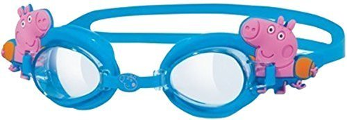 Zoggs Peppa Or George Character Antibeschlag Schwimmbad Eye Brille Packung Von 6 - Blau, One Size