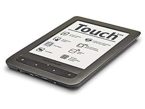 """Pocketbook Touch HD Lux eBook Reader avec éclairage LED 15,24 cm (6"""") Noir"""