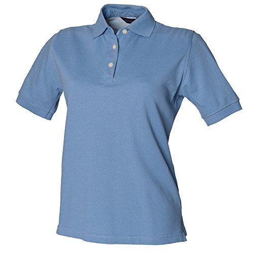 Henbury - Polo - Femme Bleu - Bleu (Bleuet)