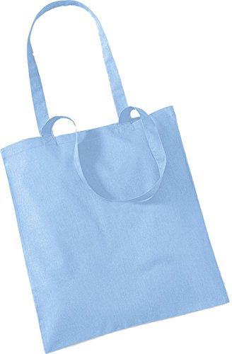 Westford Mill Shopper Handtasche Aufbewahrung Reisetasche Promo Schulter Tasche One Size Blau - Himmelblau