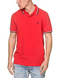 FRED PERRY - Polo - Homme - Polo Classic Slim Fit Tropic Pink pour homme