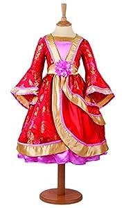 Amscan Vestido OPR3 ORIENTAL PRINCESO Vestido de bebé, Niñas, Color No Sólido, 3-5 Años