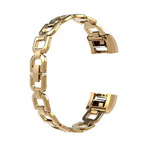 wearlizer-metallo-bande-di-ricambio-per-fitbit-charge-2-gold-l