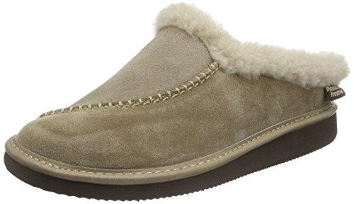 Pantofole Da Uomo 32.050 Piatte Marrone (marrone)