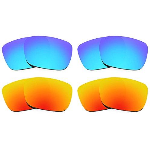 Revant Ersatzlinsen für Spy Optic Helm Polarisiert 4 Paar Kombipack K022