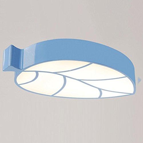 MOMO Deckenleuchte Kinderzimmer Lichter Moderne Cartoon Wolken Schlafzimmerleuchten Wohnzimmer Deckenleuchten Led Augenschutz Lampen,Rosa-50 * 33 * 8cm 28W