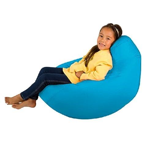 Kids Hi-BagZ - Kids Bean Bag Gaming Chair - Childrens Beanbag (Water Resistant) AQUA