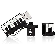 BESTRUNNER Pendrive USB 16 GB USB 2.0 Chiavetta USB Pen Drive Memoria Flash Drive Memory Stick Piano Forma Regalo per Bambini