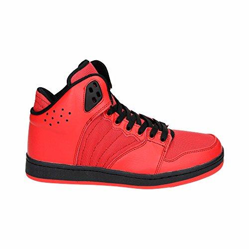Herren Sportschuhe High Top Schnür Sneaker Basketball Freizeit Turn Schuhe