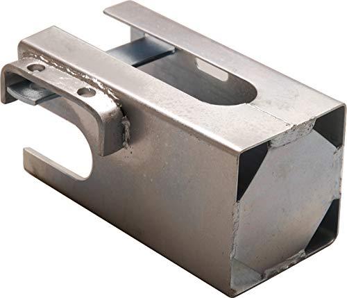 Kraftmann 80760 Protection antivol pour remorques, Argent