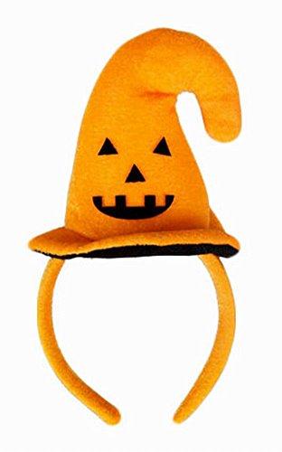 von 3 Lustige Halloween-Dekorationen Kostüm Requisiten Kürbis Kopfbedeckung ()