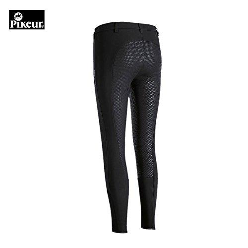 Preisvergleich Produktbild Pikeur Damen Vollbesatz Reithose LUCINDA GRIP 79er Material,  schwarz,  36