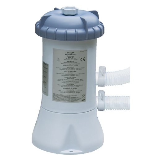 Intex-58604Fr-Pool-Zubehör-Filterpumpe mit Kartuschenfilter 2M3/H-220-230V