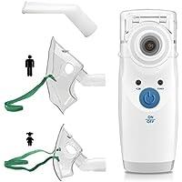 Preisvergleich für MedX5 Inhalator mit Schwingmembran-Technologie, Medizinprodukt mit umfangreichem Zubehör, auch für Kinder geeignet